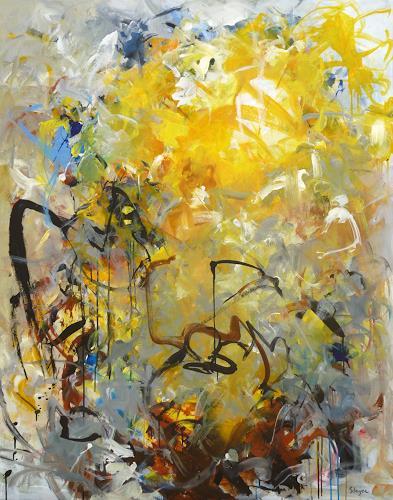 Thomas Steyer, Spurlos verschwunden, Abstraktes, Gefühle, Abstrakter Expressionismus