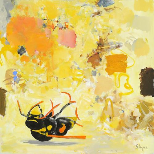 Thomas Steyer, Nectar of Life, Abstraktes, Gefühle, Abstrakter Expressionismus