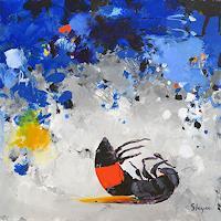 Thomas-Steyer-Tiere-Luft-Abstraktes-Moderne-Expressionismus-Abstrakter-Expressionismus