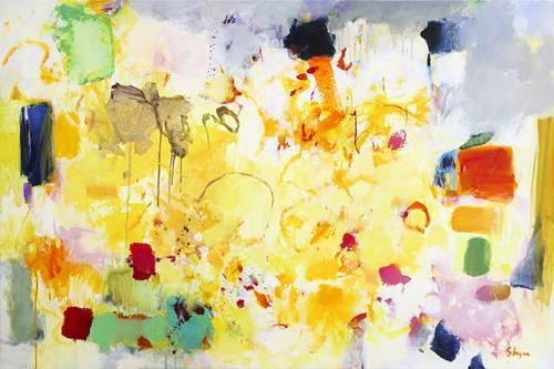 Thomas Steyer, Alright Me Babber, Abstraktes, Gefühle, Abstrakter Expressionismus
