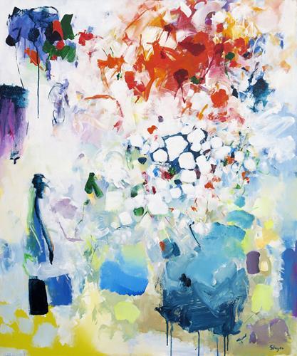 Thomas Steyer, Thunder, Abstraktes, Gefühle, Abstrakter Expressionismus