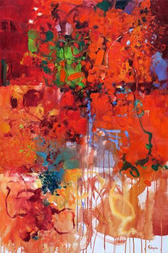 Thomas Steyer, The Worm, Abstraktes, Gefühle, Abstrakter Expressionismus, Expressionismus