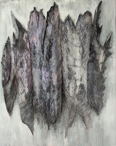 Friedhelm Raffel, Archaische Assoziation, Fantasie, Impressionismus, Abstrakter Expressionismus
