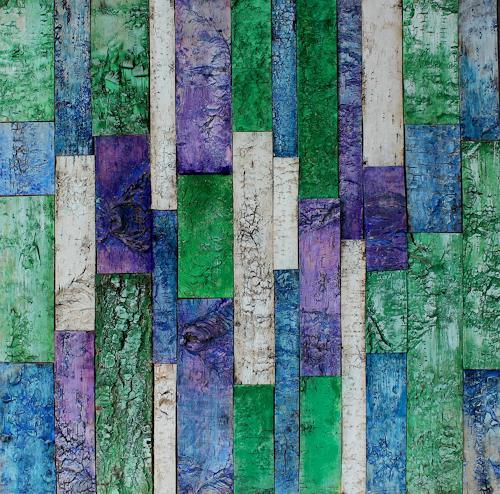 Friedhelm Raffel, Farb-Verdikalismus, Abstraktes, Moderne, Abstrakter Expressionismus