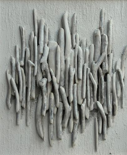 Friedhelm Raffel, Strandgut, Abstraktes, Gegenwartskunst