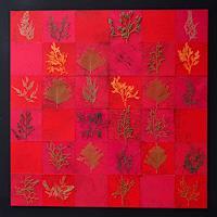Friedhelm-Raffel-Pflanzen-Moderne-Abstrakte-Kunst