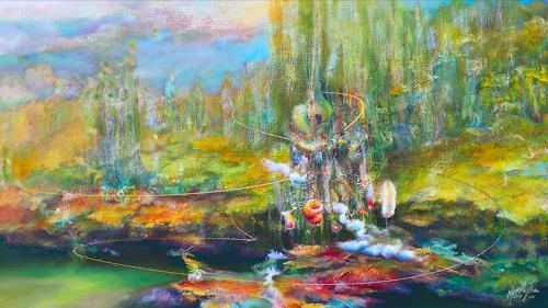 Stan Adard, Spiritual Gate, Abstraktes, Fantasie, Andere