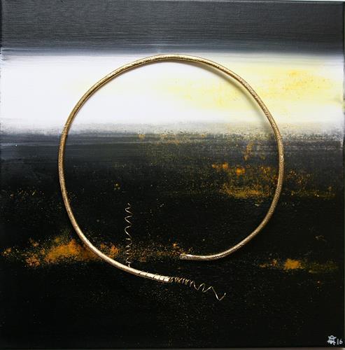 Astrid Hörr-Mann, befreit I, Symbol, Gegenwartskunst, Abstrakter Expressionismus