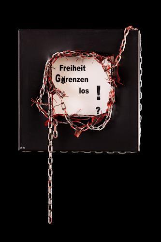 Astrid Hörr-Mann, Freiheit grenzenlos?, Gesellschaft, Gegenwartskunst