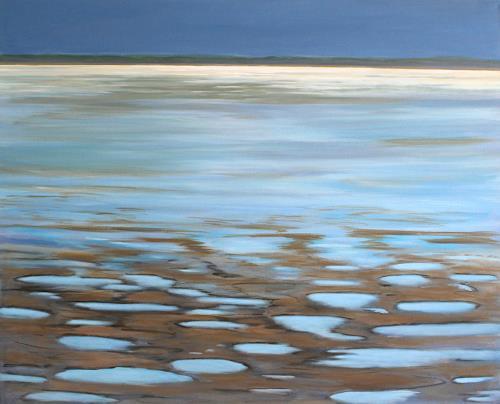 Ingeborg Müller, Sylt, Watt, Landschaft, Landschaft: See/Meer, Moderne