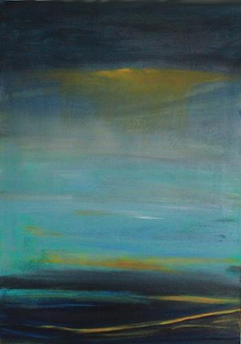 Ingeborg Müller, Weite 5, Abstraktes, Landschaft, Gegenwartskunst