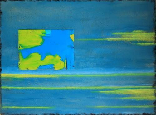 Ingeborg Müller, la mer, Natur, Natur: Wasser, Abstrakte Kunst