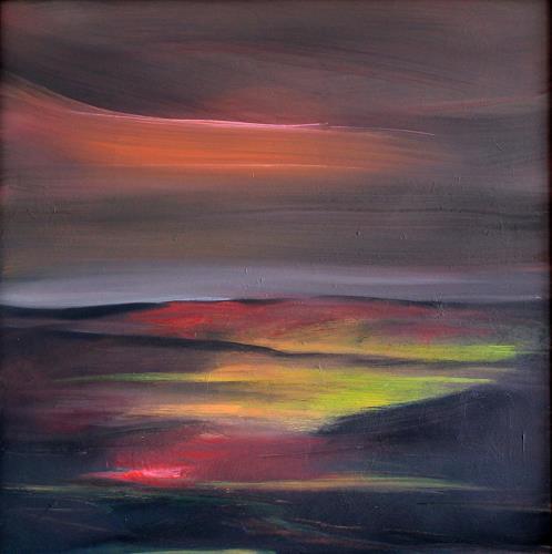 Ingeborg Müller, Now, Landschaft, Abstraktes, Moderne