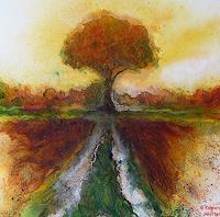 Kirsten Alletter, Baum im Herbst