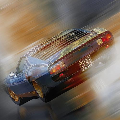 Bernd Michalak, Lamborghini Miura, Technik, Gegenwartskunst