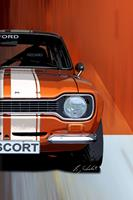 Bernd Michalak, Ford Escort-Frontview