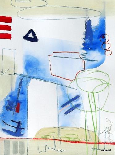 Friedhelm Apollinar Kurtenbach, O/T, Diverses, Diverses, Andere, Abstrakter Expressionismus