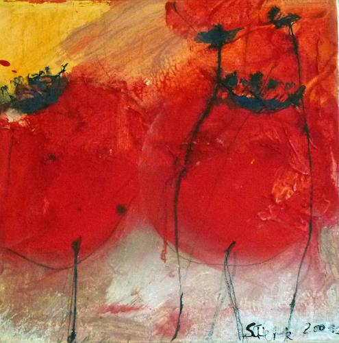 scherk, La Amapola dos, Pflanzen: Blumen, Expressionismus