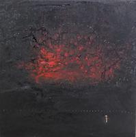 Gerhard-Knolmayer-1-Landschaft-Berge-Landschaft-See-Meer-Moderne-expressiver-Realismus
