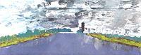 Gerhard-Knolmayer-1-Architektur-Landschaft-Huegel-Moderne-Abstrakte-Kunst