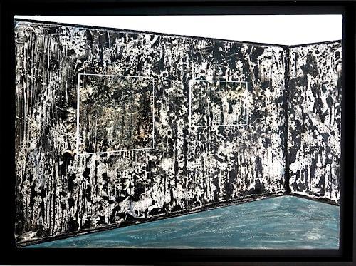 Gerhard Knolmayer, Zu Gast bei Franz West und Tamuna Sirbiladze, Architektur, Wohnen: Zimmer, Moderne, Abstrakter Expressionismus