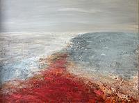 Gerhard-Knolmayer-1-Landschaft-See-Meer-Gegenwartskunst-Neo-Expressionismus