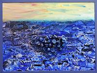 Gerhard-Knolmayer-1-Landschaft-See-Meer-Gesellschaft-Moderne-expressiver-Realismus