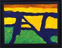 Gerhard-Knolmayer-1-Landschaft-Ebene-Moderne-Expressionismus-Die-Bruecke