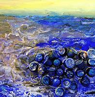 Gerhard Knolmayer, Bildausschnitt (für Ausstellungsankündigung) von Great Pacific Garbage Patch