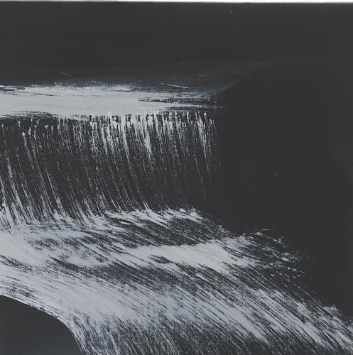 Gerhard Knolmayer, Die Kraft des Wassers, Natur: Wasser, expressiver Realismus, Abstrakter Expressionismus