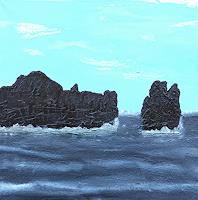 Gerhard-Knolmayer-1-Landschaft-See-Meer-Landschaft-Tropisch-Moderne-expressiver-Realismus