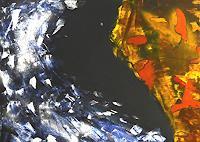 Gerhard-Knolmayer-1-Landschaft-See-Meer-Diverse-Weltraum-Moderne-expressiver-Realismus