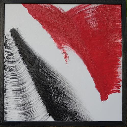 Gerhard Knolmayer, What goes Up must go Down, Symbol, Gesellschaft, Abstrakter Expressionismus