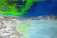 Gerhard-Knolmayer-1-Landschaft-See-Meer-Natur-Wasser-Moderne-expressiver-Realismus