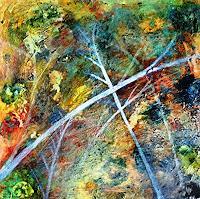 Gerhard-Knolmayer-1-Diverse-Pflanzen-Landschaft-Gegenwartskunst-Neo-Expressionismus