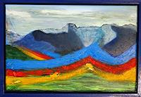 Gerhard-Knolmayer-1-Landschaft-Berge-Fantasie-Moderne-expressiver-Realismus