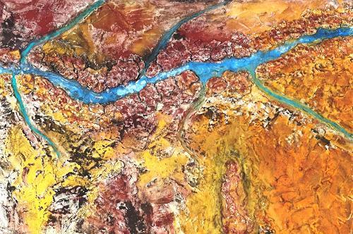 Gerhard Knolmayer, Grand Canyon, Landschaft: Berge, Landschaft: Ebene, expressiver Realismus