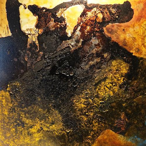 Gerhard Knolmayer, Napoleon auf dem Großen St. Bernhard, Geschichte, Menschen: Mann, Radikale Malerei, Abstrakter Expressionismus