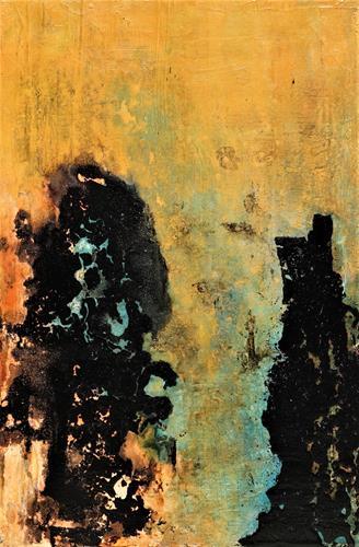 Gerhard Knolmayer, Post-Corona-Begegnung, Menschen, Gesellschaft, Abstrakter Expressionismus