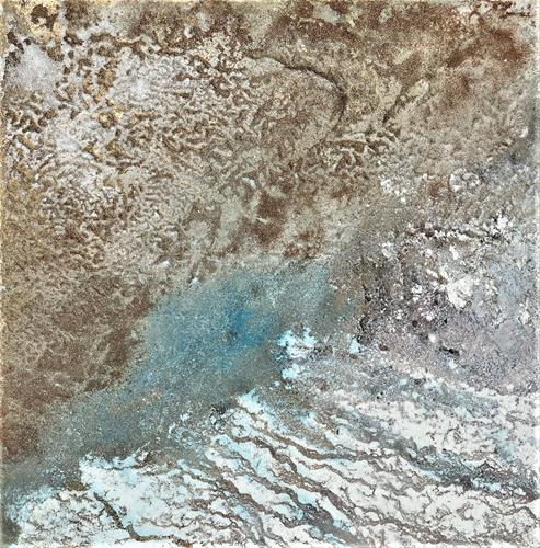 Gerhard Knolmayer, Freiheit für die Bodenschätze!, Landschaft, Natur: Erde, Abstrakte Kunst