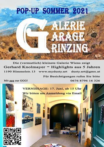 Gerhard Knolmayer, Ausstellung Grinzing 2021, Architektur, Gegenwartskunst
