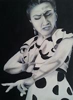Gabriele-Scholl-Menschen-Frau-Bewegung-Moderne-Andere-Neue-Figurative-Malerei