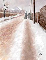 Kay-Menschen-Landschaft-Winter-Gegenwartskunst-Gegenwartskunst