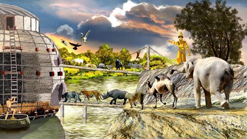 Kay, Gilgamesch-Epos, Fantasie, Mythologie, Historismus, Abstrakter Expressionismus