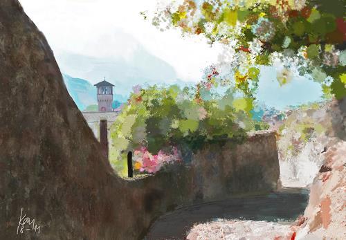 Kay, Salita San Michele, Landschaft: Ebene, Landschaft: Sommer, Gegenwartskunst