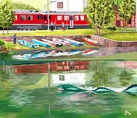 Kay-Landschaft-See-Meer-Fantasie-Gegenwartskunst-Gegenwartskunst