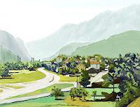 Kay-Landschaft-Berge-Natur-Diverse-Gegenwartskunst-Gegenwartskunst