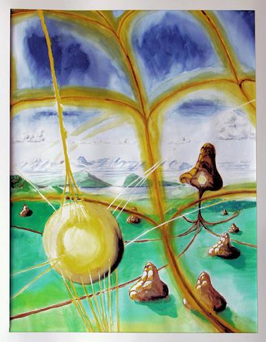 Kay, Zukunft, Fantasie, Natur: Erde, Konzeptkunst