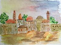 G. Tresch, Orientalisches Dorf
