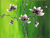 Godi-Tresch-Pflanzen-Blumen-Fantasie-Moderne-Abstrakte-Kunst